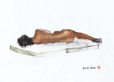 Resting Woman