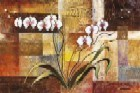 Orchid On Abstract l