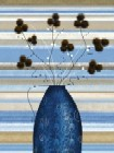 Study Of Mimosa In Blue