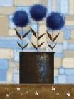 Study Of Chrysantehmuse Blue
