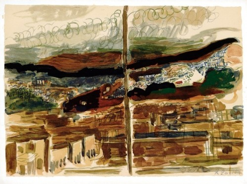 Diptychal Landscape, 1939 (S.G.) - Edition 280