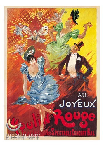 Moulin Rouge, 1900