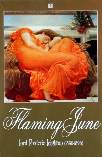 Flaming June, Museo De Arte Ponce Puerto Rico