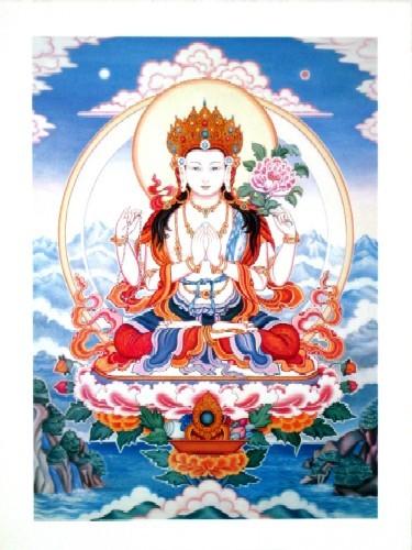 Chenrezig, The Great Bodhisattva