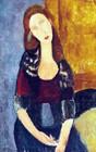 Jeanne Hebuterne, Sitzend