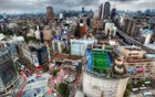 Adidas Soccer Stadium on top of a Building Tokyo