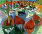 Boats At Martigues