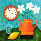 Still Life & Clock