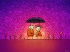 A Pair Of Lovers In The Rain