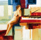 Concert Intermision -Original (S.G.) on mazonite/Hand Sined - Edition 395