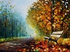 Autumn Bench