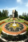 The Bahai Gardens And Temple In Haifa A