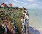 The Cliff at Dieppe 1882