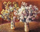 Two Vases with Chrysanthems, 1888