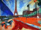 La Tour Eiffel - 1911