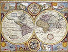 Map Of The World John Speedc 1646