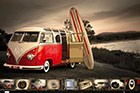 VW Kombi Surfboard