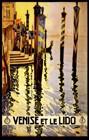 Venise Et Le Lido, Travel Poster ,1920