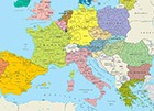 Map of South Europe
