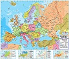 Advanced Europe Political Map