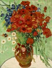 Vase With Daisies And Poppies (1890)