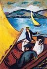 Segelboot auf dem Tegernsee