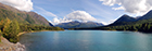 Kenai Lake And Chugach Mountains Near Cooper Landing
