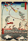 The city flourishing, Tanabata festival, 1857