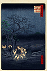 New Year's Eve Foxfires At The Changing Tree, Oji, 1857
