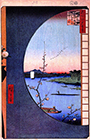 One Hundred Famous Views of Edo, no. 036, part 1, 1857