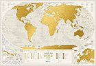 Scratch Travel Map Geography