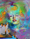 Marylin Monroe - A Painted Lady