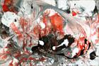 Red White & Black I