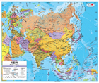 Map Of Asia - Political