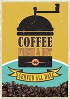 Coffee Postcard Design