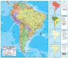 Political Map Of South America II