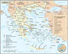 Political And Administrative Map Of Greece