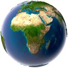 Africa  Satellite Map