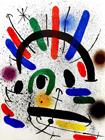 Miro Lithographe I - Platte II