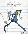 The Wall (1979) by Gerald Scarfe's artwork