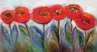 Poppies, Oil on Canvas
