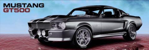 Mustang GT500 Sky