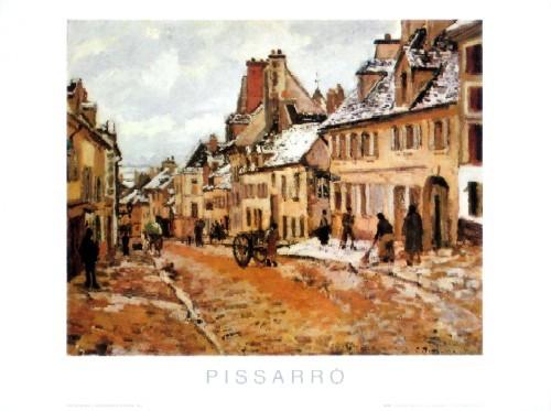 Strada Di Pontoise, In Inverno - 1873