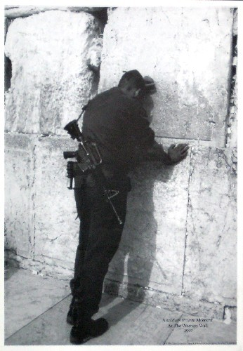 A Private Moment At The Western Wall