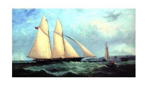 Schooner Yacht Cambria