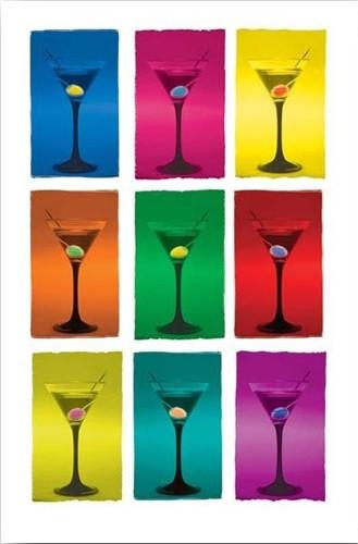 Martini Pop Art