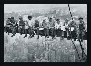 Men On Girder