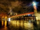 The River That Ran Through Lyon At Midnight
