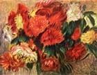 Stilleben mit Chrysanthemen