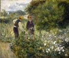 Picking Flowers, 1875-76